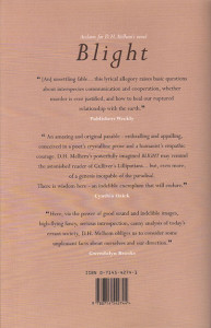 BLIGHT back cover